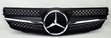 Mercedes CLK Class W209 03-09 1 Fence SLS Front Hood Sport Black Grill Grille