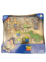 Disney Parks Toy Story 9 Piece Collectible Figure Set. RARE Set 2008