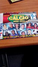 MINI ALBUM CALCIATORI CAMPIONATO DI CALCIO 98/99  serie A (72 STICKERS SU 191)