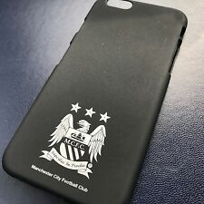 Apple iPhone 6 Manchester City Cover High Density Composite TPU Case Black