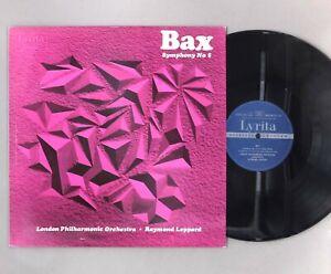 """Bax - Symphony No. 5 - Leppard - NEAR MINT - 12"""" Vinyl LP - SRCS 58"""
