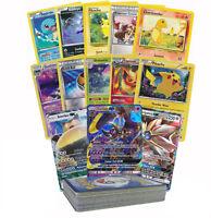 Pokemon TCG : 50 CARD LOT RARE, COMMON, UNC, HOLO & GUARANTEED GX OR FULL ART