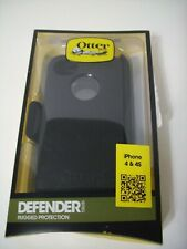 OtterBox Defender Series iPhone 4 & 4S Protective Cell Phone Belt Clip Cover BLK