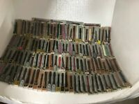 Lot Of 248 NOS Vintage Speidel Ass. Sizes And Styles Genuine Leather Watch Band