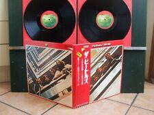 THE BEATLES 1962/1966 made in JAPAN COMPLET poster/livrets OBI
