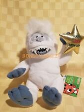 Cvs Rudolph the Red Nosed Reindeer Abominable Snowman Plush 1999 Tags Happy 2000