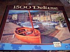 The Harbor At Gargnano ~ 1500 Pc. Mega Puzzle # 973557Adn, New, Sealed,