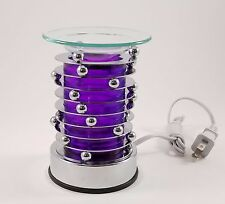 Decorative Touch Sensitive Electric Glass Lamp Aromatherapy Oil Burner HP-0120