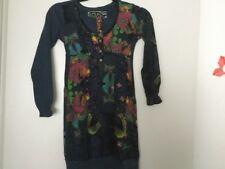 Desigual robe 9-10ans bleu nuit noir