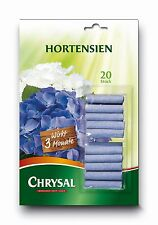 CHRYSAL Düngestäbchen für Hortensien, 20 Stäbchen