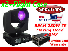 ShowLight BEAM 230W 7R Moving Head Light with FLIGHT CASE (alt Clay Paky Sharpy)
