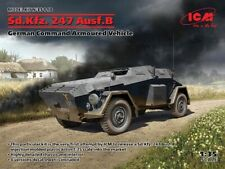 ICM 35110 WWII German Command Armoured Vehicle Sd.kfz.247 Ausf.b In 1 35