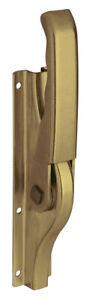 Deni Tortreibriegel PLANO Stahl gelb verzinkt Torverschluss Treibriegel Tor Tür