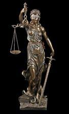Justitia Statue with Libra + Sword Big 75 cm - Veronese Figurine Gift Attorney
