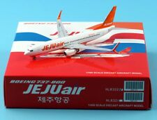 JC Wings 1:400 Jeju Air Boeing 737-800 Diecast Aircarft JET Model HL8322