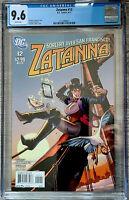 Zatanna #12 Amanda Conner Cover CGC 9.6 DC Comics 2011