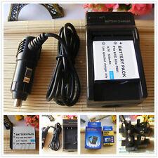 Battery+Charger for Kodak Klic-7001Easy Share V550 V610 M753 M763 M893 IS
