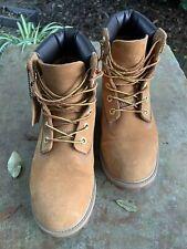 Timberland 12909 Youth Wheat Premium Waterproof Work Boot Sz 6