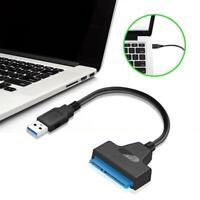 YouN USB3.0 zu SATA Adapter Konverterkabel für 2,5 Zoll SSD HDD Festplatten