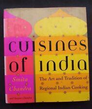 2001 Cuisines of India Cookbook - Smita Chandra - 1st Ed!