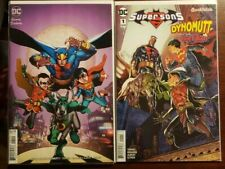 SUPER SONS & DYNOMUTT #1 NM Both Cover Set DC Comics 2018