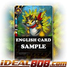 Buddyfight x 4 Arc Dragon, Bariballo [X-BT03/0083 C (Regular)] English Mint Futu