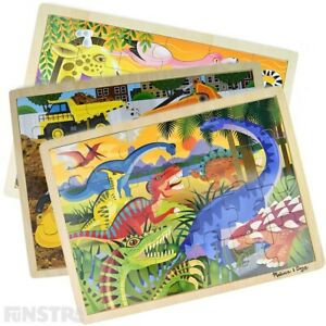 Melissa and Doug Puzzles   Wooden Jigsaw Puzzles