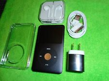 Apple iPod classic 7th Gen Black and Gold (160 GB) Excellent Condition + Extras!