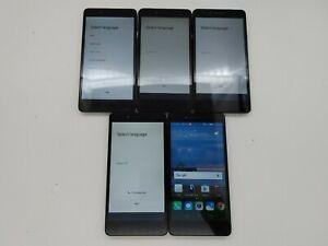 Lot of 5 Huawei Sensa LTE H710VL Silver 16GB Tracfone/Straight Talk (READ)