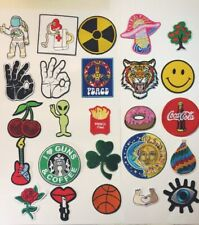 embroidery Patches Iron Sew On Patches transfers Badges appliques usa Seller