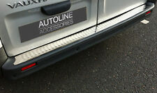 CHROME BUMPER SILL PROTECTOR COVER TRIM STAINLESS STEEL FOR RENAULT TRAFIC 02-14