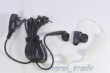 PTT Earphone for Sepura Radio SRP3000 SRH3800 with extra Acoustic Tube Earpiece