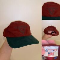 Vintage Lake Hartwell Hat One Size Fits All Red Triangle Headwear Made In USA