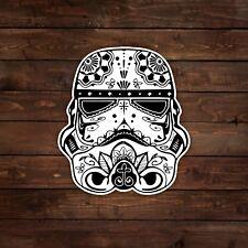 Stormtrooper [Black & White] (Sugar Skull / Star Wars) Decal/Sticker