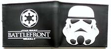 Star Wars Battlefront Bifold Wallet purse id window 2 card slot zip coin pocket