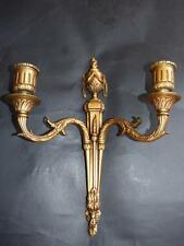 ANTIQUE LOUIS XVI STYLE  GILT BRONZE WALL BRACKET /CANDLE SCONE /ELECTRIC 1890's