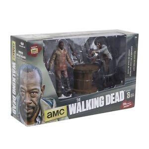 McFarlane Toys Walking Dead TV Morgan Jones Impaled Walker Spike Trap Deluxe Box