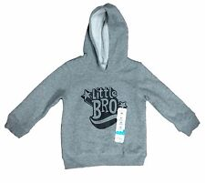 Jumping Beans Toddlers Size 24 Months Heather Grey Fleece Pullover Hoodie NEW