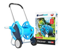 Cellfast Discover Hose Cart Trolley Reel Pipe Holder Garden Irrigation 60m UK