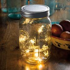 PBK Light Supply - Silver LED Standard Mouth Mason Jar Lid STAR Lights