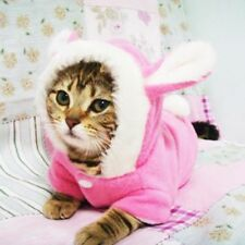Cat Clothes Easter Rabbit Animals Suit Clothing For Cats Warm Pet Cat Clothes