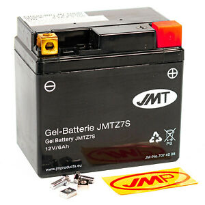 JMT Gel Batterie YTZ7S 12V Gel Husqvarna SM TC TE 450 510 530 250 310 R RR 4T