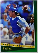1993 93 Score Select Rookie Prospect Mike Piazza RC #347, Los Angeles Dodgers