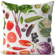 Obst Gemüse Kissenbezug Fruits Vegetables Obst Früchte Essen Vitamine Kochen