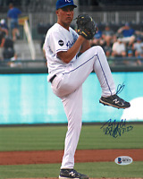 Danny Duffy signed autographed 8x10 photo! Royals! Beckett Authenticated!