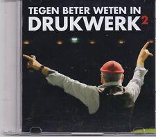 Drukwerk-Tegen Beter Weten In promo cd single