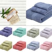 100% Soft Cotton Bath Towels 70 x 140cm Cloth Flannels Wash Cloths