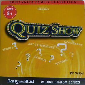 QUIZ SHOW – PROMO CD-ROM (2007) Encyclopaedia Britannica / AGE 8+