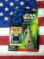 1997 Star Wars POTF Princess Leia Ewok Freeze Frame Action Slide Action Figure
