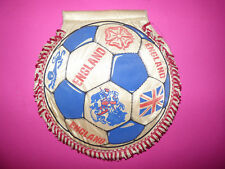 VINTAGE ENGLAND NATIONAL TEAM SOCCER FLAG